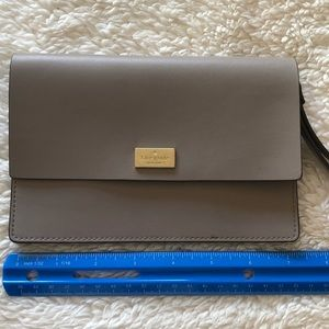 Kate Spade Taupe Wristlet (Authentic)